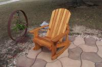 Click to enlarge image Adirondack Rocking Chair -