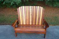 Click to enlarge image Garden Bench/Loveseat -